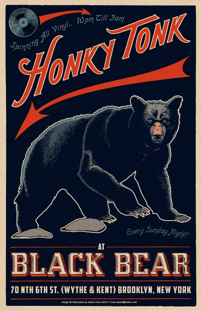 Black Bear Bar - Honky Tonk Night