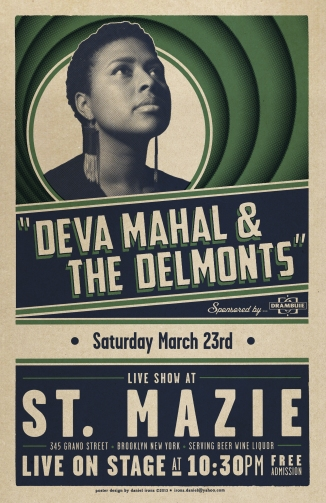 Deva Mahal & the Delmonts - St. Mazie