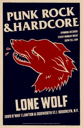 PUNK & HARDCORE NIGHT AT LONE WOLF BAR.