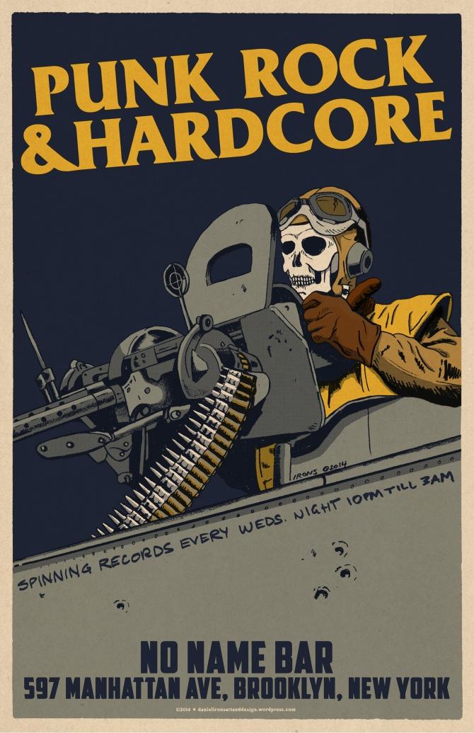 HELL GUNNER - PUNKROCK & HARDCORE NIGHT at NO NAME BAR