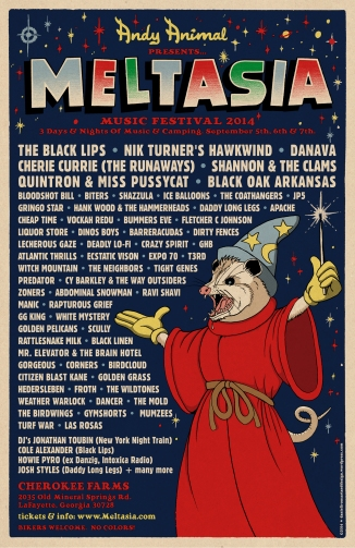 Andy Animal's Meltasia Music Festival 2014