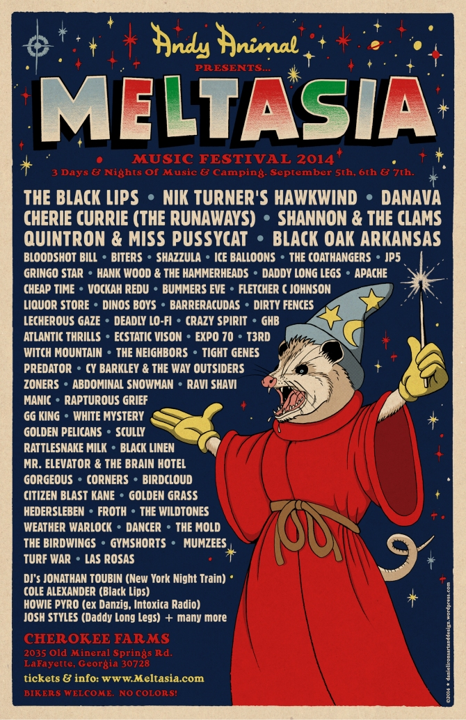 Andy Animal's Meltasia Music Festival 2014